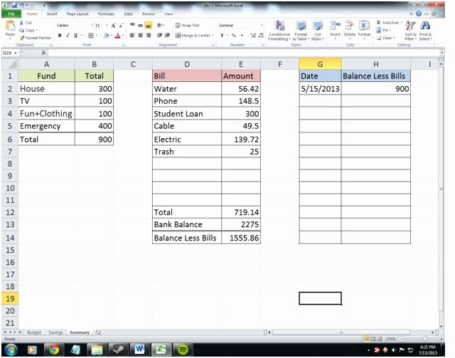 Bi Weekly Bill Pay Template New Show Me the Money – Paying the Bills A Guide to Paying