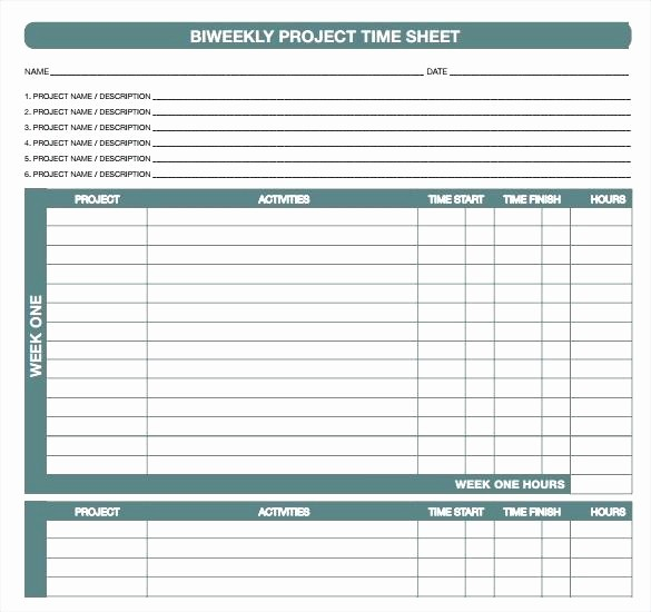 Bi Weekly Employee Timesheet Template Best Of Excel Sample Timesheet Template Monthly Employee Working