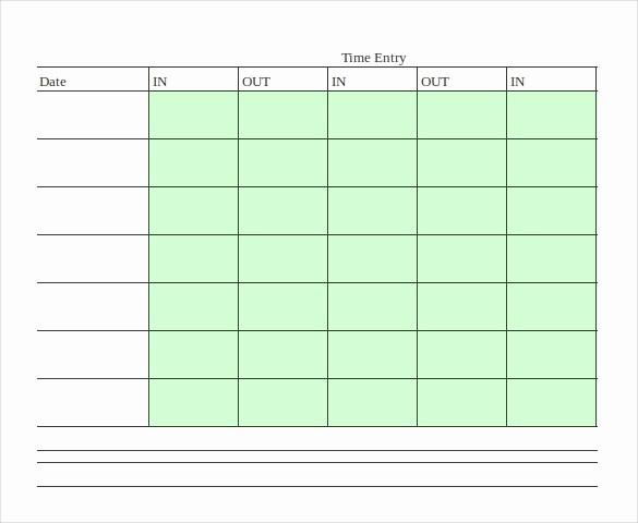 Bi Weekly Employee Timesheet Template New 18 Bi Weekly Timesheet Templates – Free Sample Example