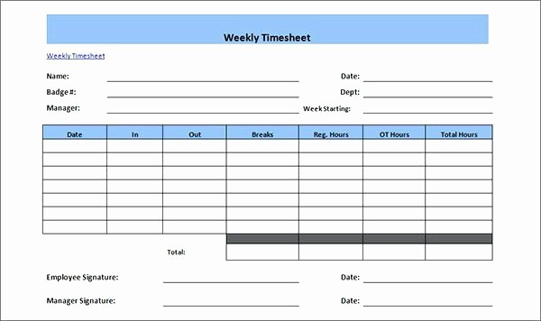 Bi Weekly Employee Timesheet Template New Payroll Template Secure for Multiple Employees G Word Bi