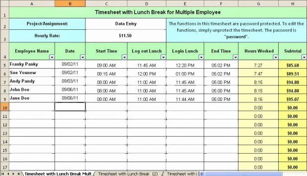 Bi Weekly Timecard with Lunch Awesome Bi Weekly Time Card Calculator with Lunch Break Hashtag Bg