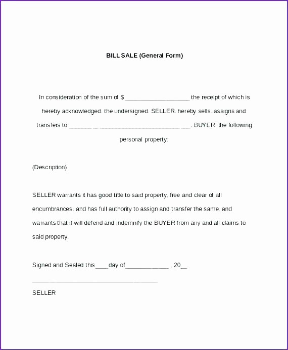 Bill Of Sale Auto Florida Awesome Motor Vehicle Bill Sale Car Template Doc Word Free Ga