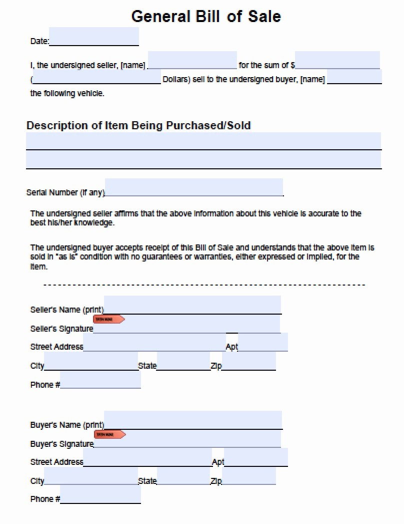 """Bill Of Sale Blank Document Inspirational Search Results for """"free Printable Bill Sale"""