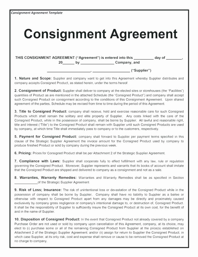 Bill Of Sale Contract Template Elegant Bill Of Sale Contract Template
