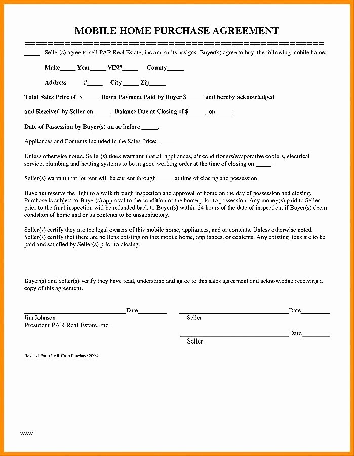 Bill Of Sale Contract Template Inspirational Bill Of Sale Contract Template