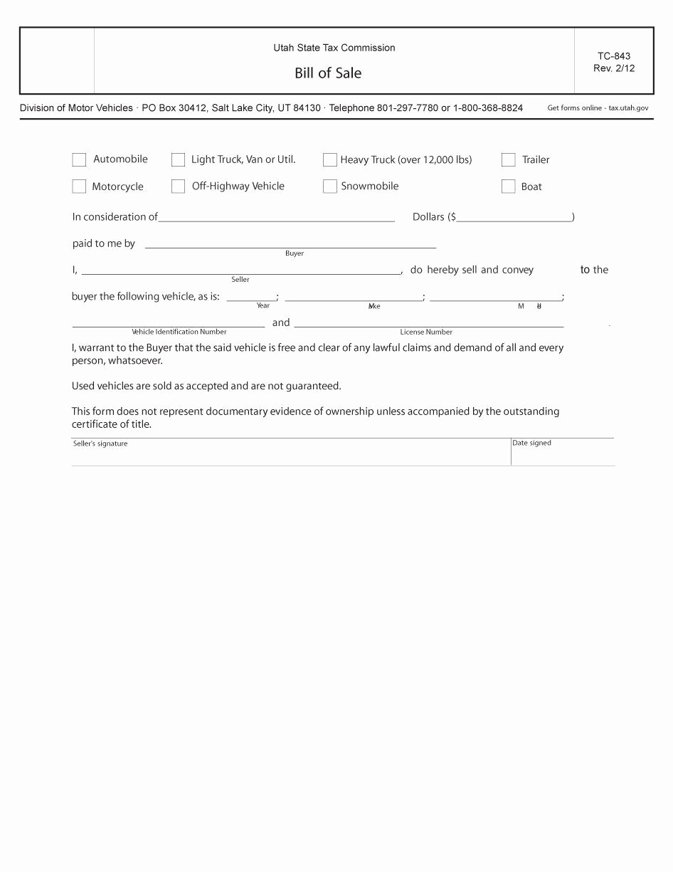 Bill Of Sale Example form Best Of 45 Fee Printable Bill Of Sale Templates Car Boat Gun