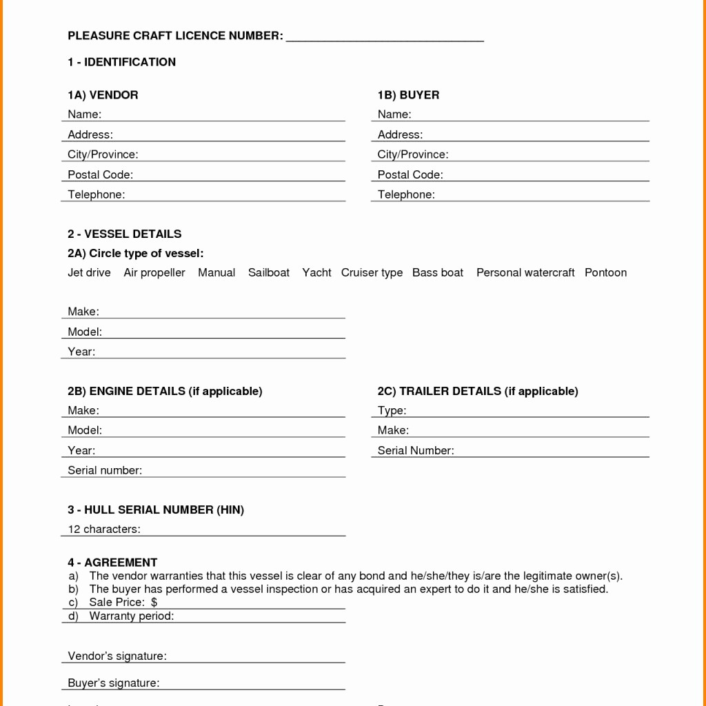Bill Of Sale Example Letter Fresh 11 Bill Sale Template Pdf