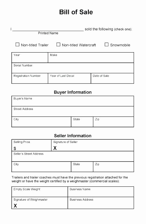 Bill Of Sale form Ma New Bill Sale Template Ma Elegant Standard form Beautiful
