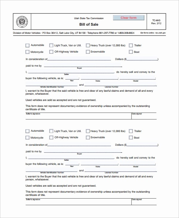 Bill Of Sale form Motorcycle Beautiful 8 Motorcycle Bill Of Sale Templates
