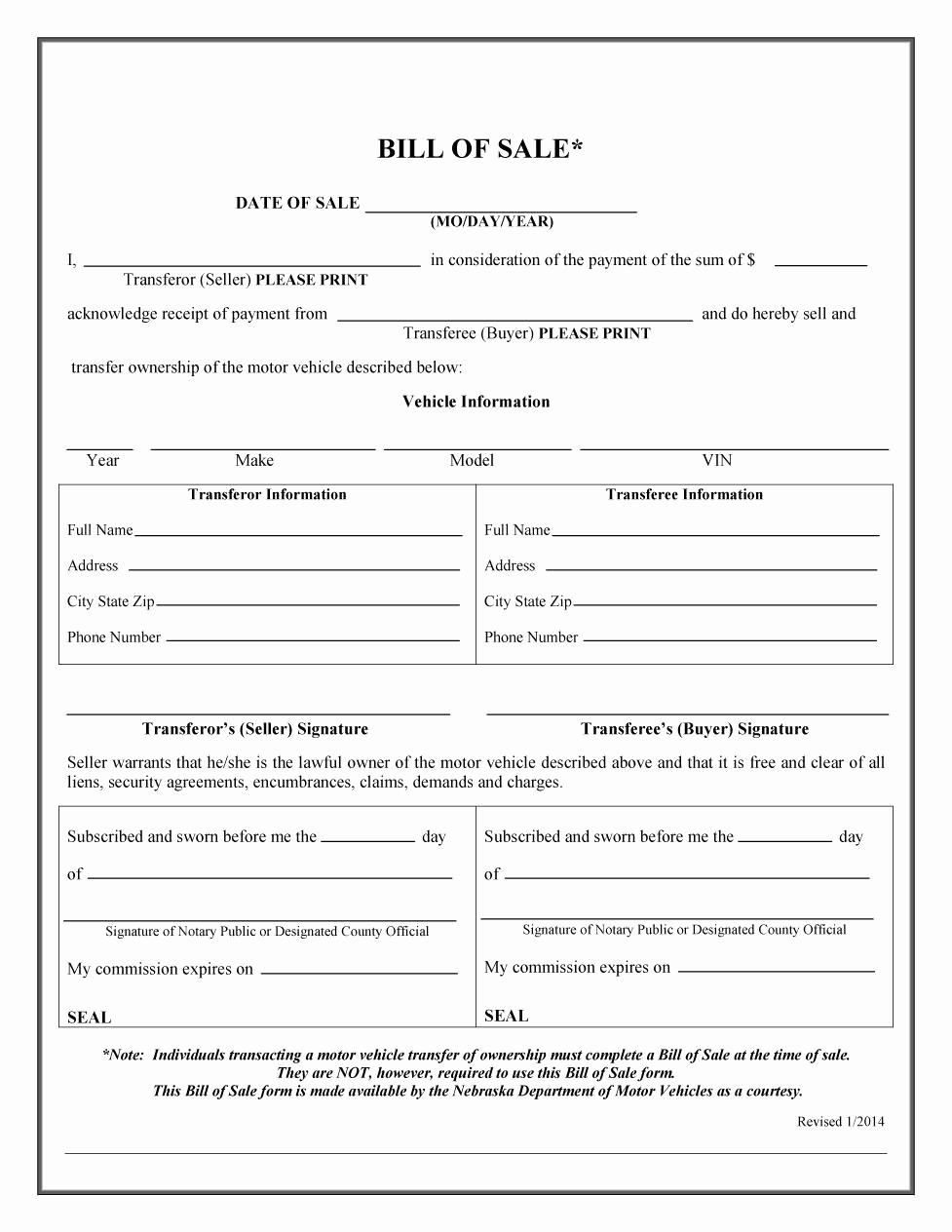Bill Of Sale Template Download Elegant 45 Fee Printable Bill Of Sale Templates Car Boat Gun