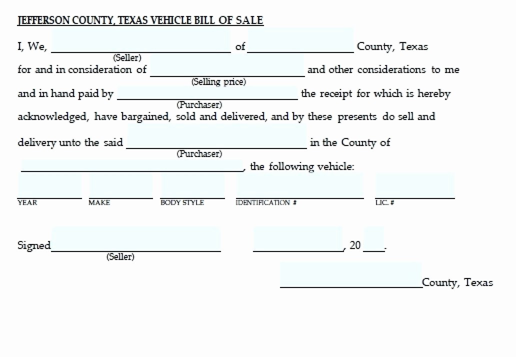 Bill Of Sale Vehicle Texas Best Of Texas Motor Vehicle Transfer Notification form