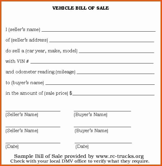 Bill Of Sale Vehicle Texas Luxury 15 Bill Of Sale for Car In Texas Proposal Letter
