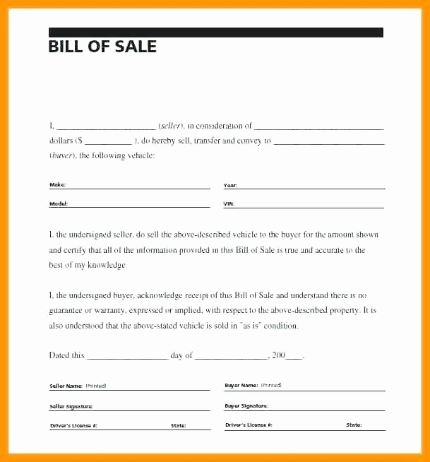 Bill Sell for A Car Awesome Receipt for Selling A Car Car Payment Receipt Template