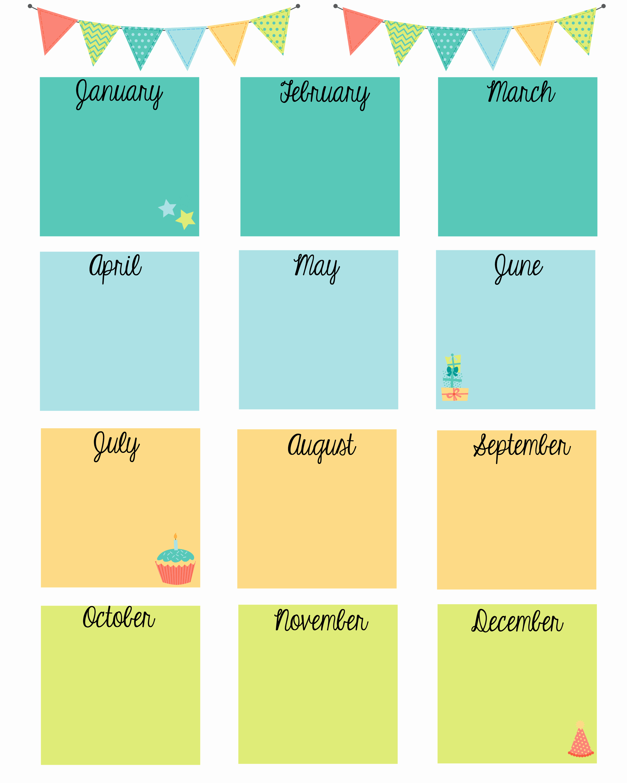 Birthday and Anniversary Calendar Template Lovely Keep In touch with Friends with A Birthday Calendar