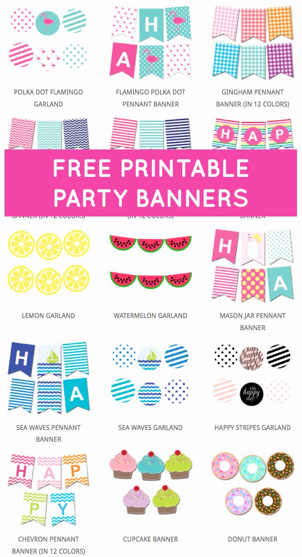 Birthday Banner Maker Online Free Luxury Best 25 Free Banner Ideas On Pinterest