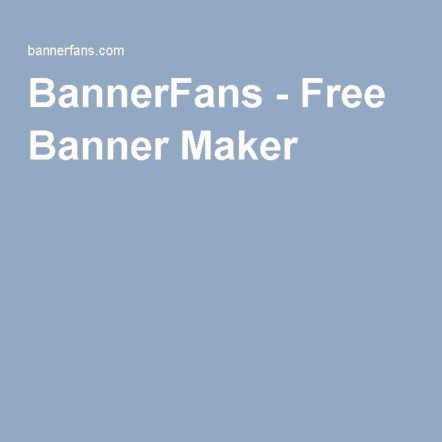 Birthday Banner Maker Online Free New Best 25 Free Banner Maker Ideas On Pinterest