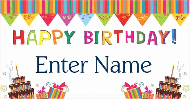 Birthday Banner Maker Online Free New Happy Birthday Poster Template 101 Birthdays