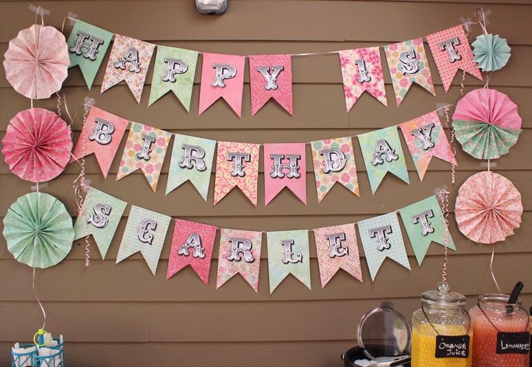 Birthday Banner Maker Online Free New Scrapbooking Paper Banner Sign sohosonnet Creative Living