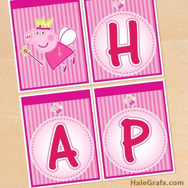 Birthday Banner Maker Online Free Unique Peppa Pig Banner Free Printable Princess Peppa Pig