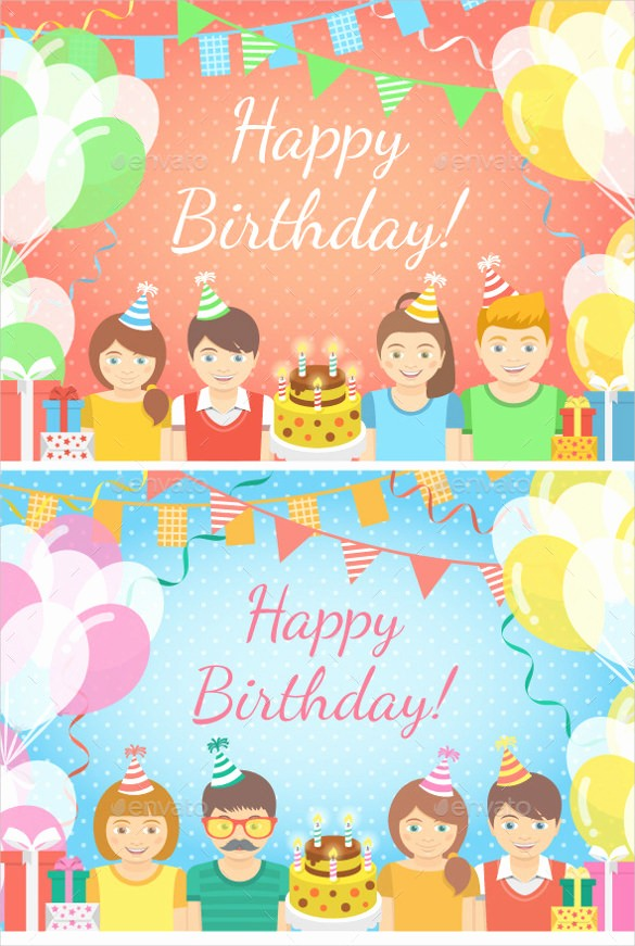 Birthday Banner Templates Free Download Beautiful 22 Birthday Banner Templates – Free Sample Example