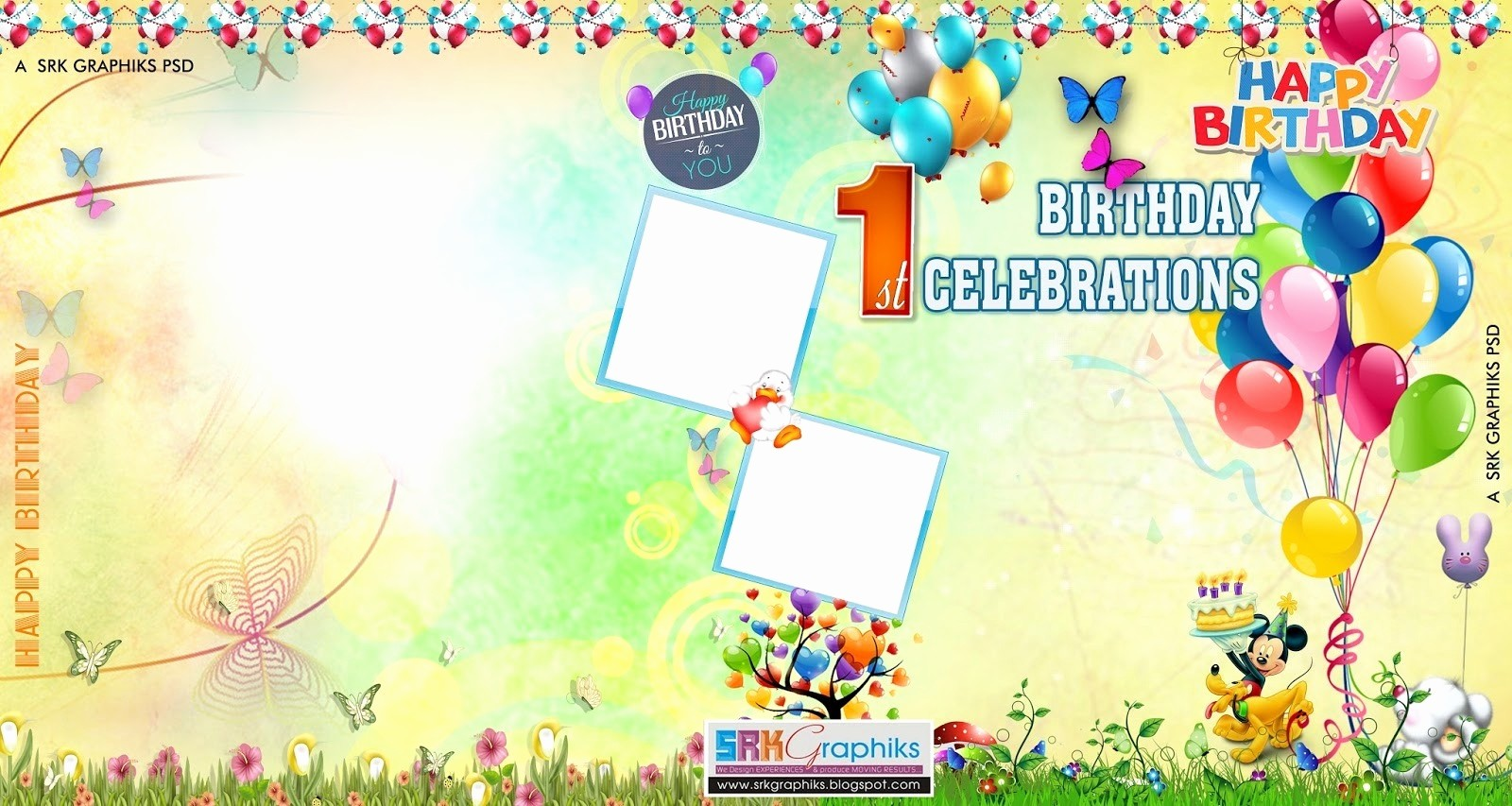 Birthday Banner Templates Free Download Fresh Birthday Banner Background Images Birthday Flex Banner
