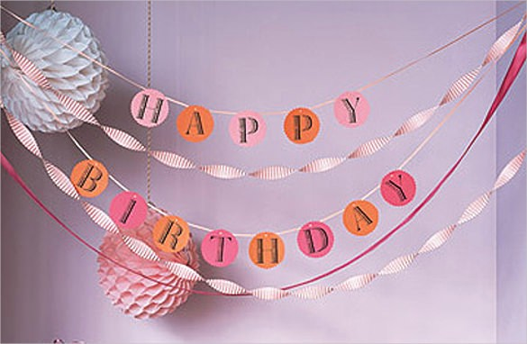 Birthday Banner Templates Free Download Lovely Birthday Banner Template – 23 Free Psd Eps In Design