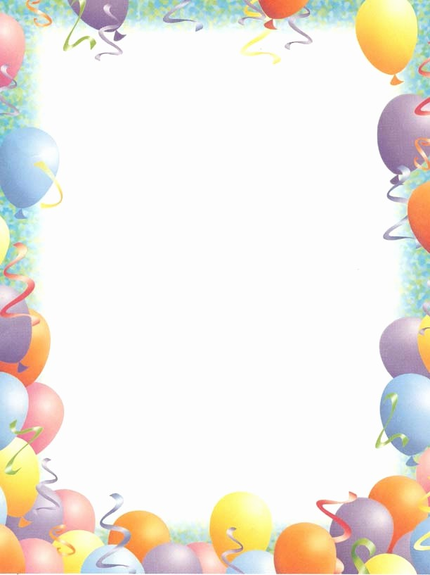 Birthday Borders for Microsoft Word Awesome Birthday Borders for Microsoft Word – Best Happy Birthday