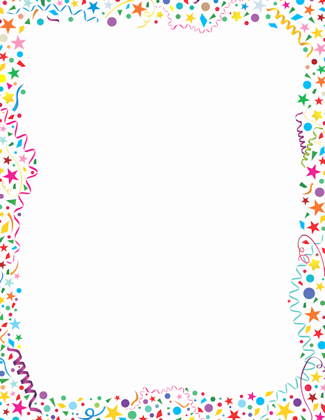 Birthday Borders for Microsoft Word Awesome Free Png Frames and Page Borders Transparent Frames and
