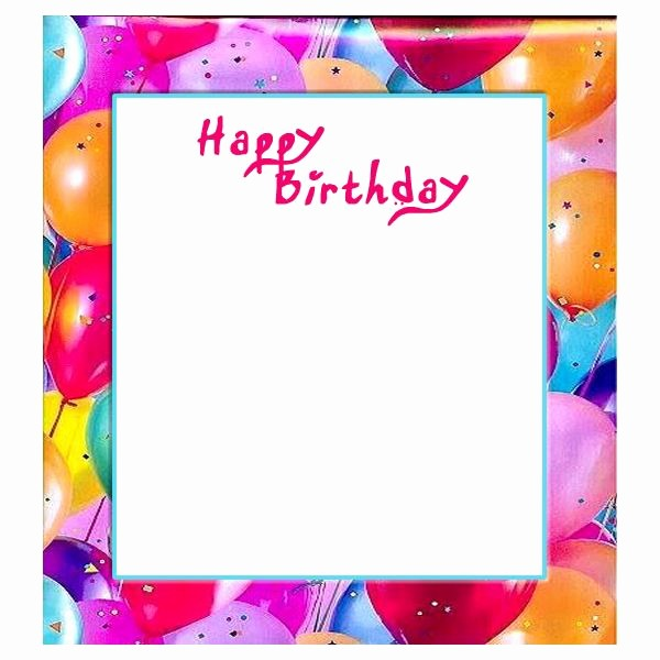 Birthday Borders for Microsoft Word Beautiful Free Birthday Borders for Invitations and Other Birthday