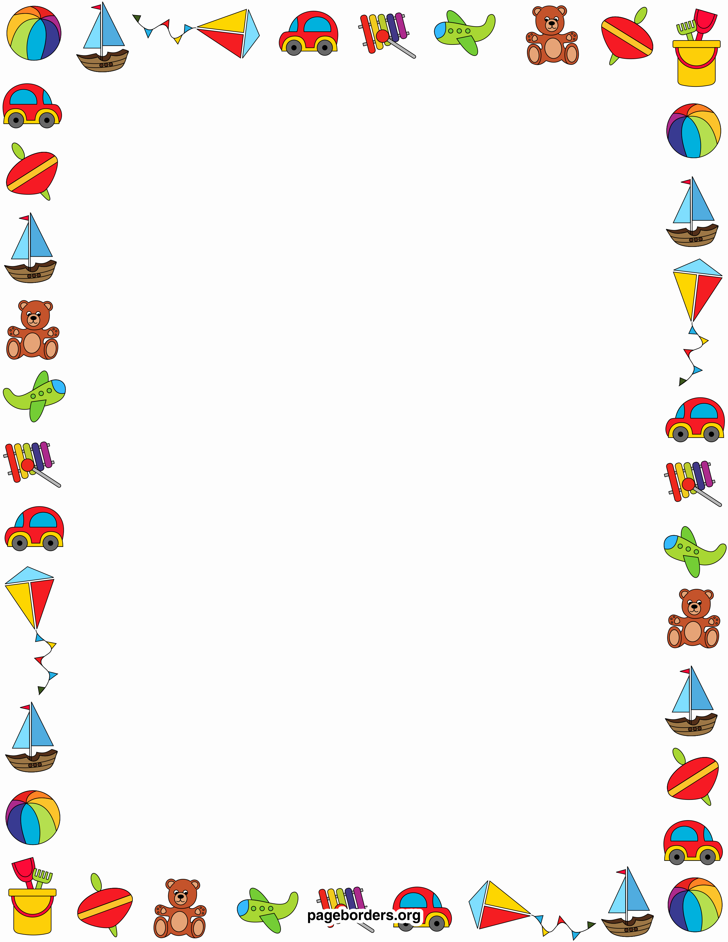 Birthday Borders for Microsoft Word Elegant Free Baby Borders for Microsoft Word Download Free Clip