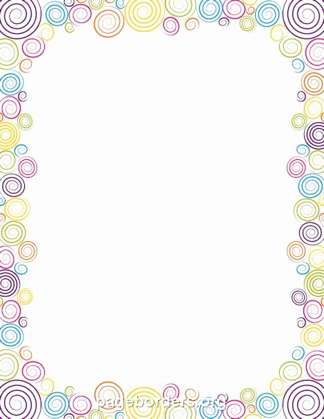 Birthday Borders for Microsoft Word Inspirational 17 Best Images About Page Borders and Border Clip Art On