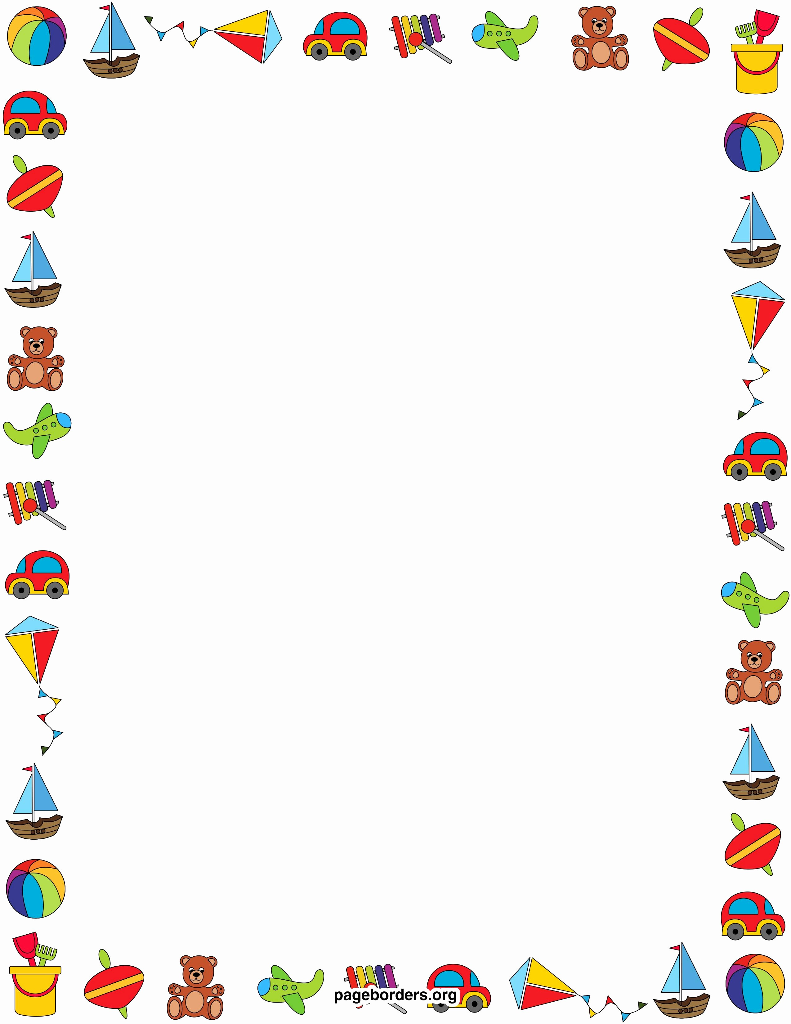 Birthday Borders for Microsoft Word New Birthday Page Borders for Microsoft Word – Best Happy