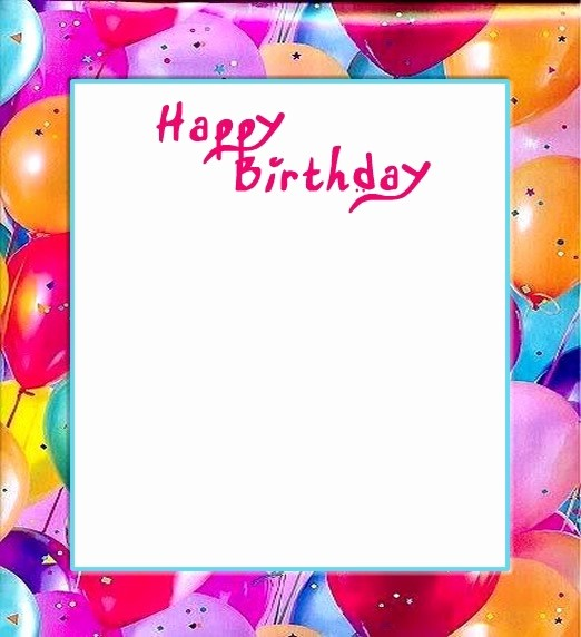 Birthday Borders for Microsoft Word Unique Birthday Border Templates for Word