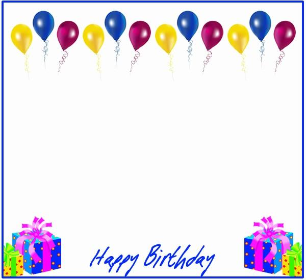 Birthday Borders for Microsoft Word Unique Birthday Borders for Microsoft Word Free Download Clip Art