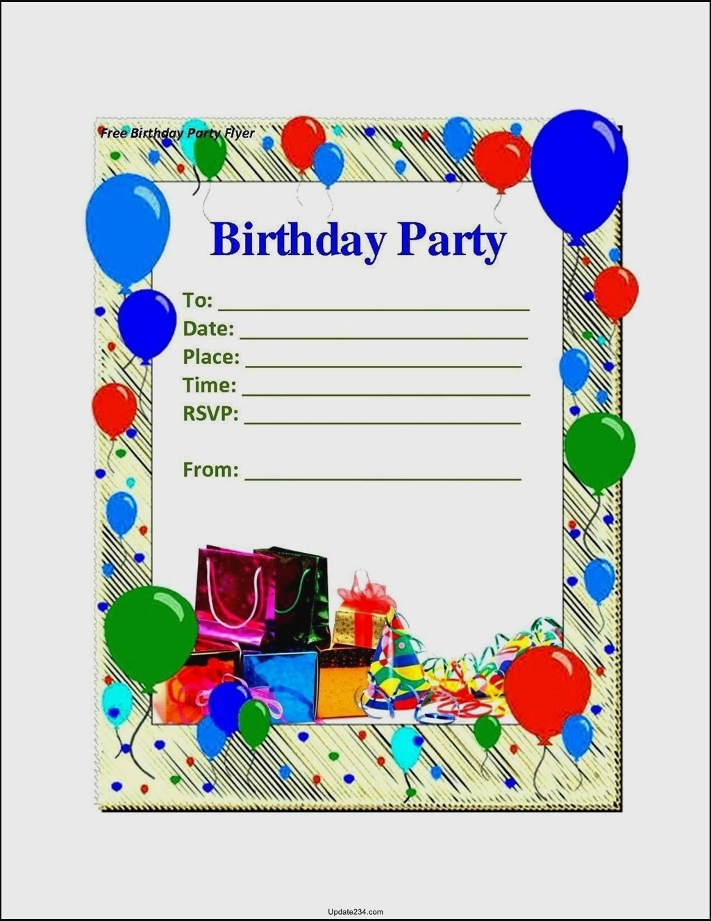 Birthday Card Template for Word Best Of Blank Birthday Card Template Word Template Update234
