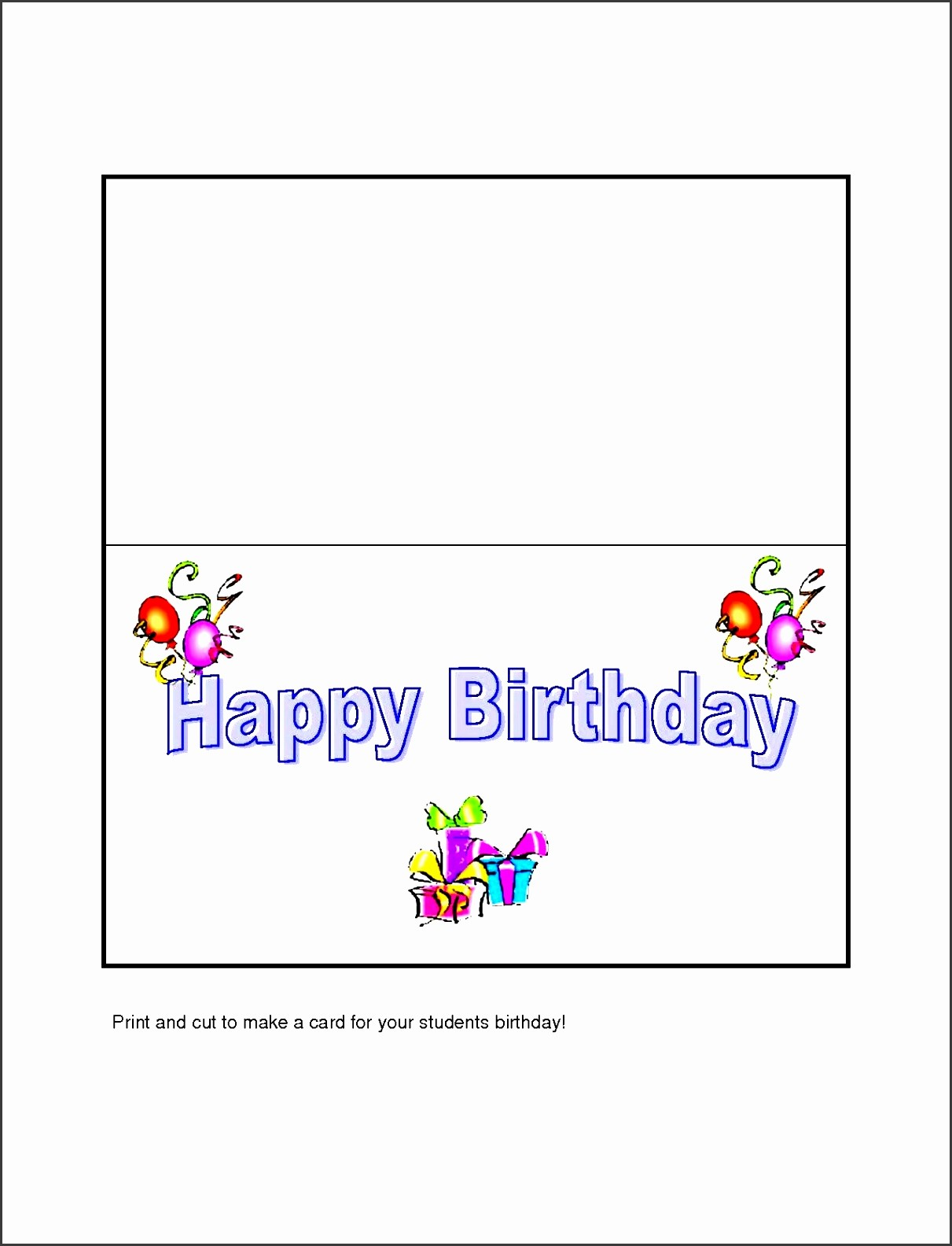 Birthday Card Template for Word Elegant 10 Free Microsoft Word Greeting Card Templates