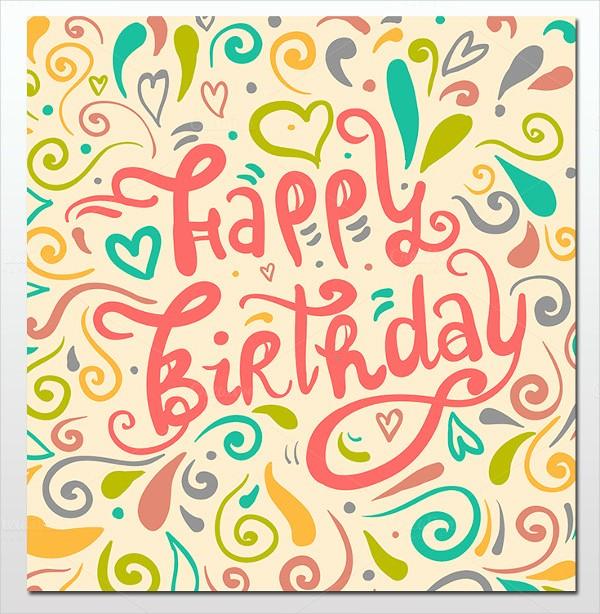 Birthday Card Template for Word Elegant 16 Birthday Templates Free Psd Eps Word Pdf