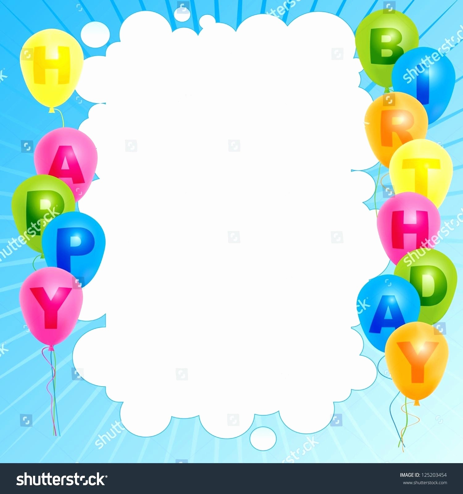 Birthday Card Template for Word Inspirational Template Happy Birthday Card Template Word