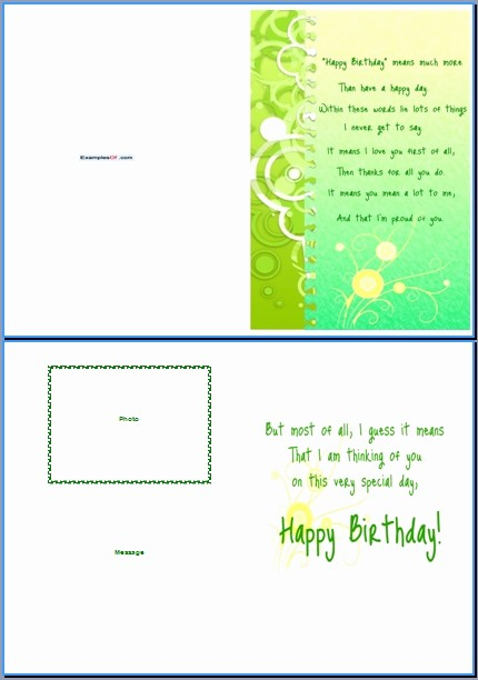 Birthday Card Template for Word Lovely Best S Of Happy Birthday List Template Birthday