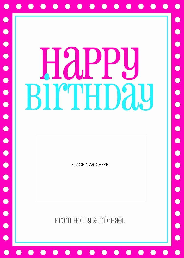 Birthday Card Template for Word Luxury Birthday Cards Templates Word