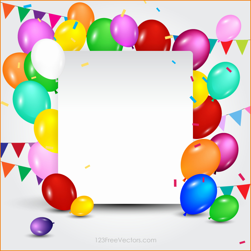 Birthday Card Template with Photo Awesome 4 Birthday Card Template Free