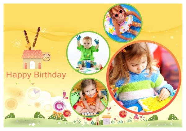 Birthday Card Template with Photo Awesome Birthday Card Templates Addon Pack Free Download
