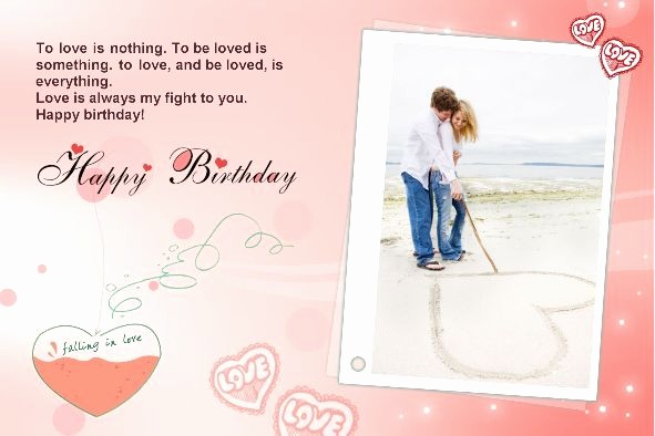 Birthday Card Template with Photo Awesome Free Photo Templates Happy Birthday Cards 2