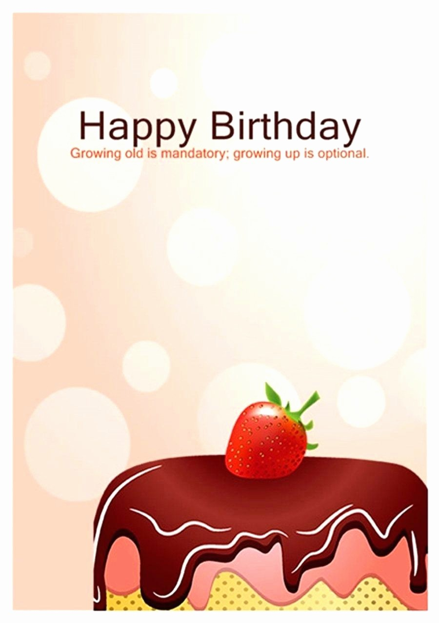 Birthday Card Template with Photo Awesome Template Birthday Greetings Template