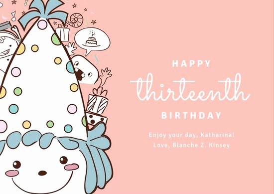 Birthday Card Template with Photo Beautiful Customize 884 Birthday Card Templates Online Canva