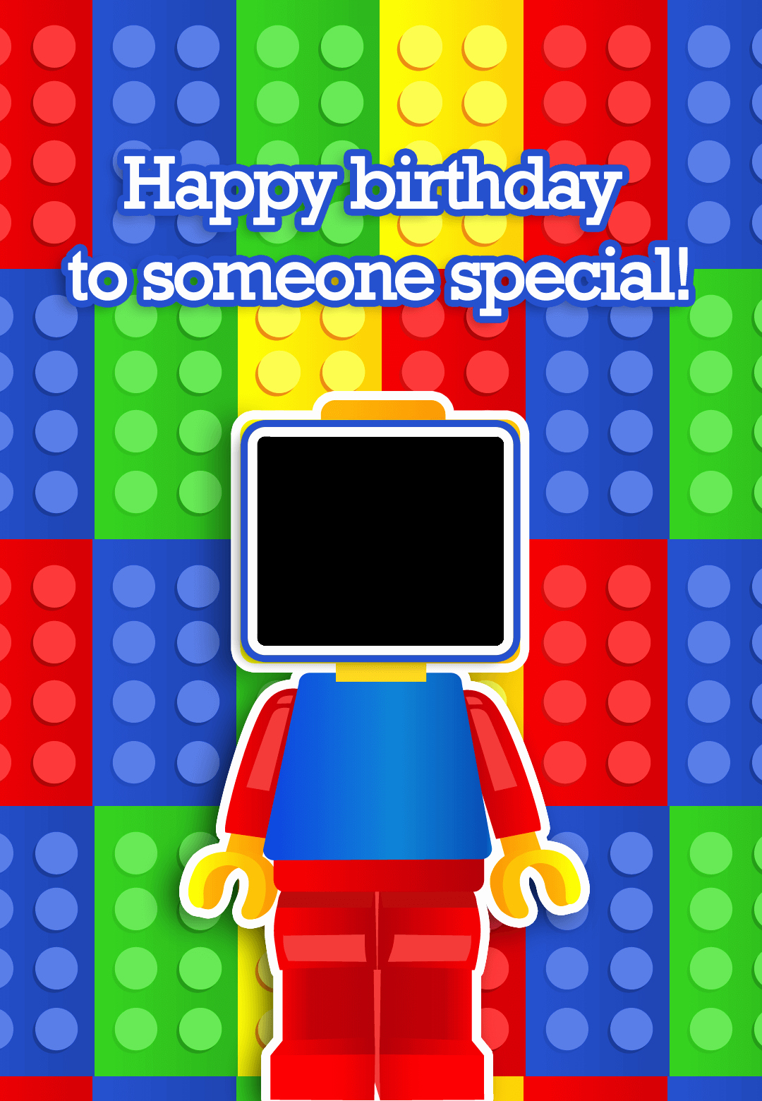 Birthday Card Template with Photo Best Of to someone Special Free Birthday Card