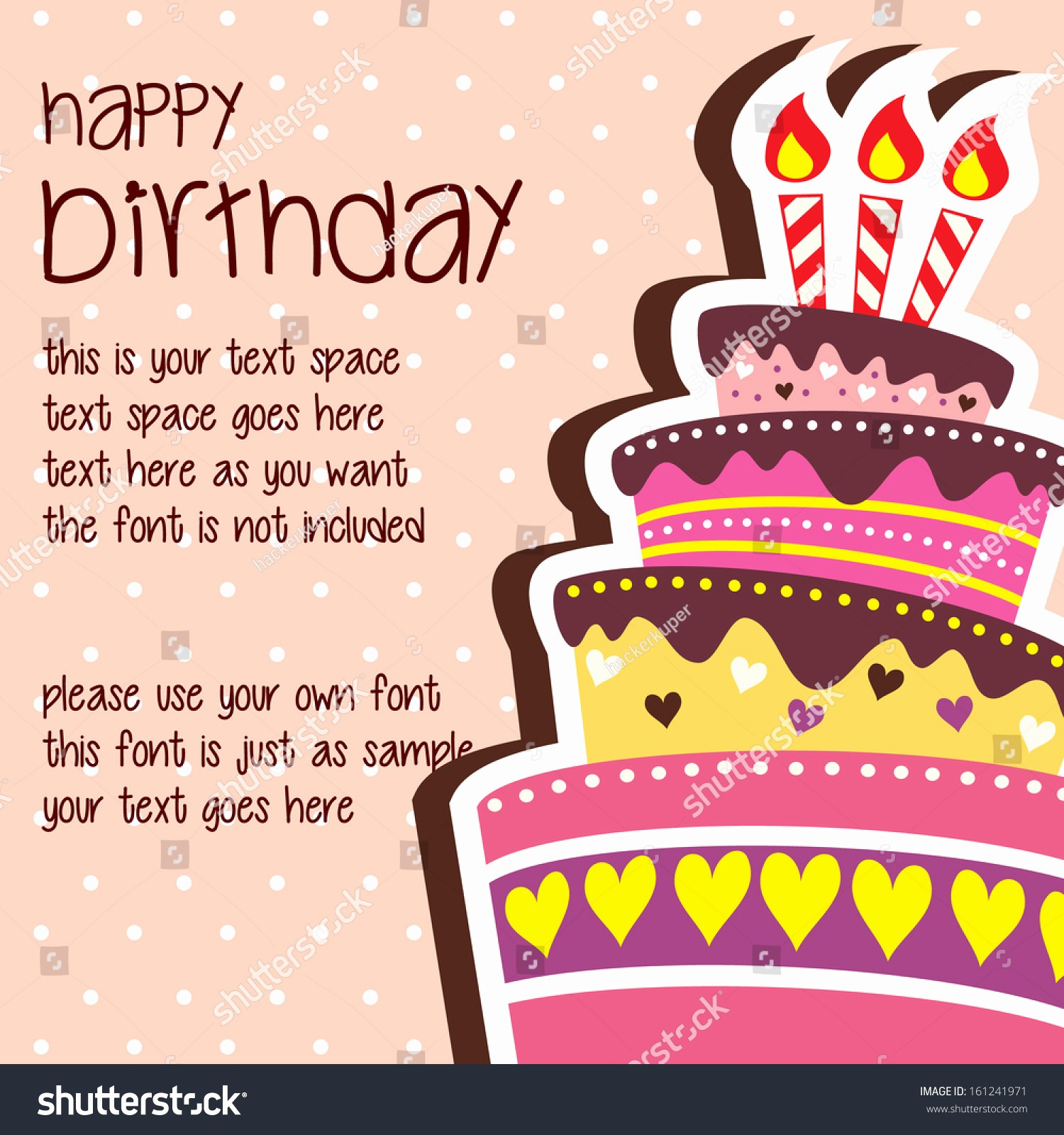 Birthday Card Template with Photo Fresh Birthday Card Template