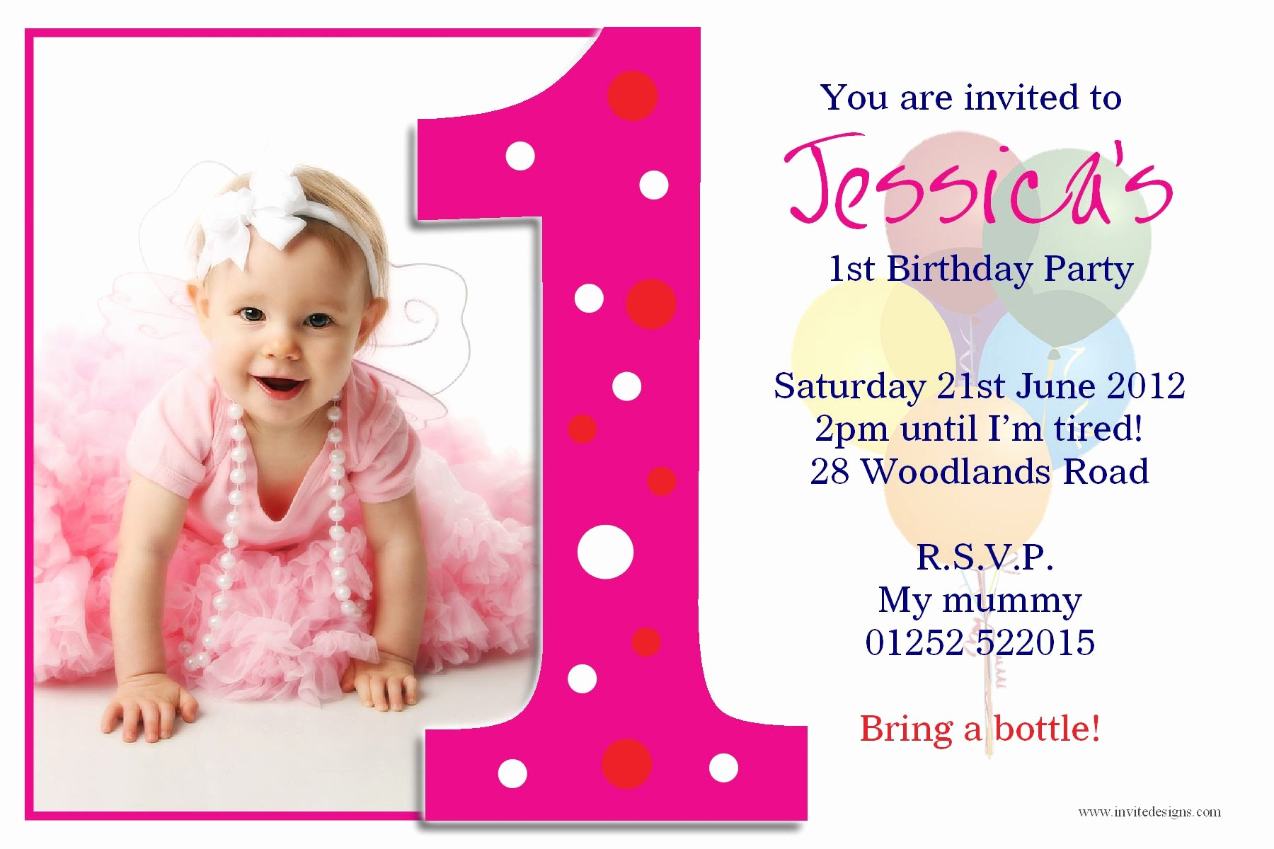 Birthday Card Template with Photo Luxury Birthday Invitation Card Birthday Invitation Card