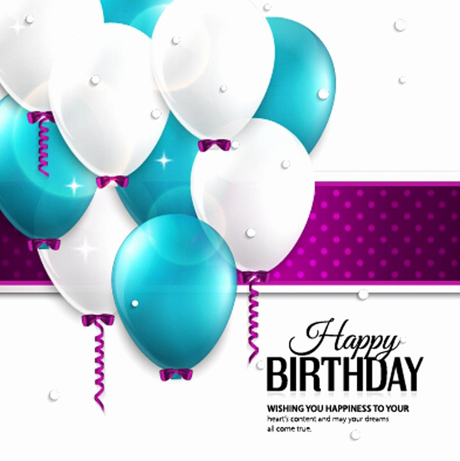 Birthday Card Template with Photo New 40 Free Birthday Card Templates Template Lab