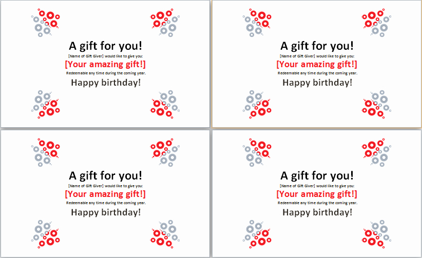 Birthday Gift Certificate Template Word Awesome Pin by Microsoft Fice Templates On Microsoft Templates